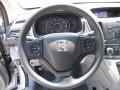 2013 Alabaster Silver Metallic Honda CR-V LX AWD  photo #9