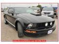 2007 Black Ford Mustang V6 Deluxe Coupe  photo #7