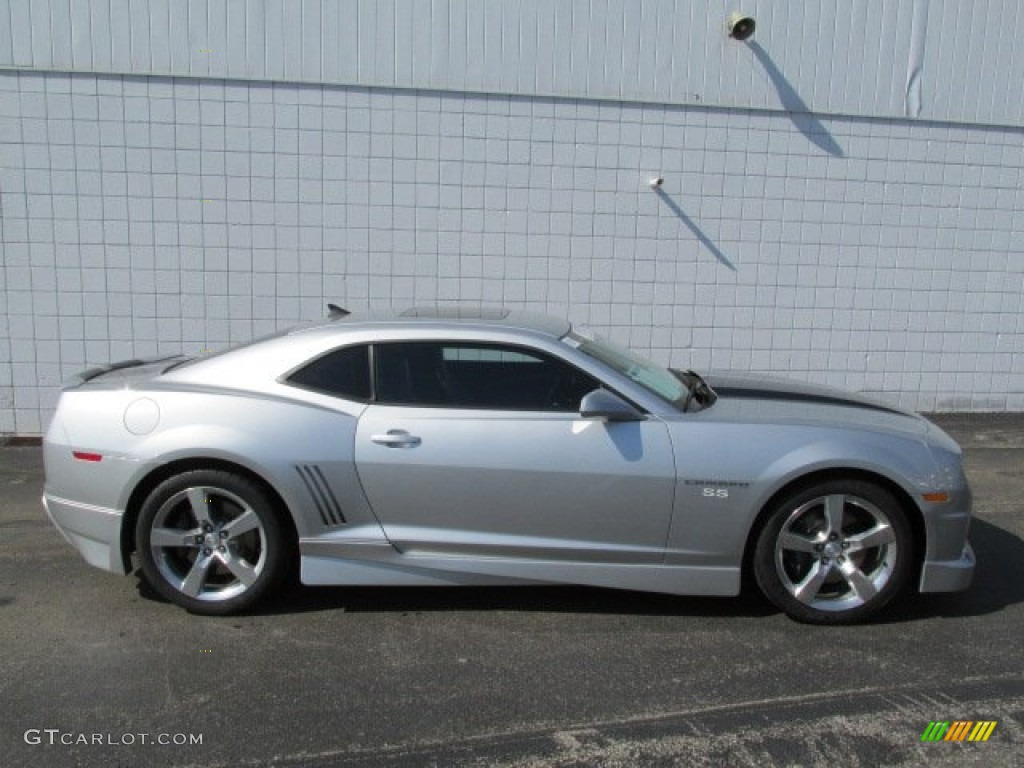 Silver Ice Metallic 2010 Chevrolet Camaro Ss Rs Coupe