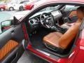 2010 Ford Mustang Saddle Interior Prime Interior Photo