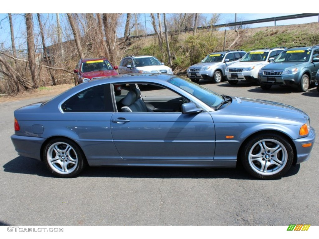 Topaz Blue Metallic 2001 Bmw 3 Series 330i Coupe Exterior