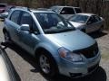 Vapor Blue Metallic 2009 Suzuki SX4 Crossover Touring AWD
