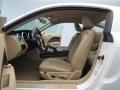 2009 Ford Mustang Medium Parchment Interior Interior Photo