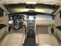 2009 Ford Mustang Medium Parchment Interior Dashboard Photo