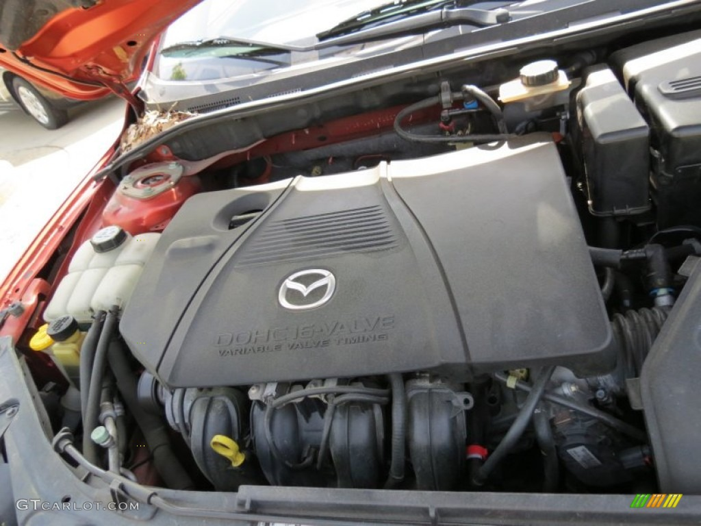 2005 mazda mazda3 s hatchback engine photos. Black Bedroom Furniture Sets. Home Design Ideas