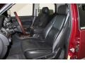 2007 Cadillac Escalade Ebony/Ebony Interior Front Seat Photo