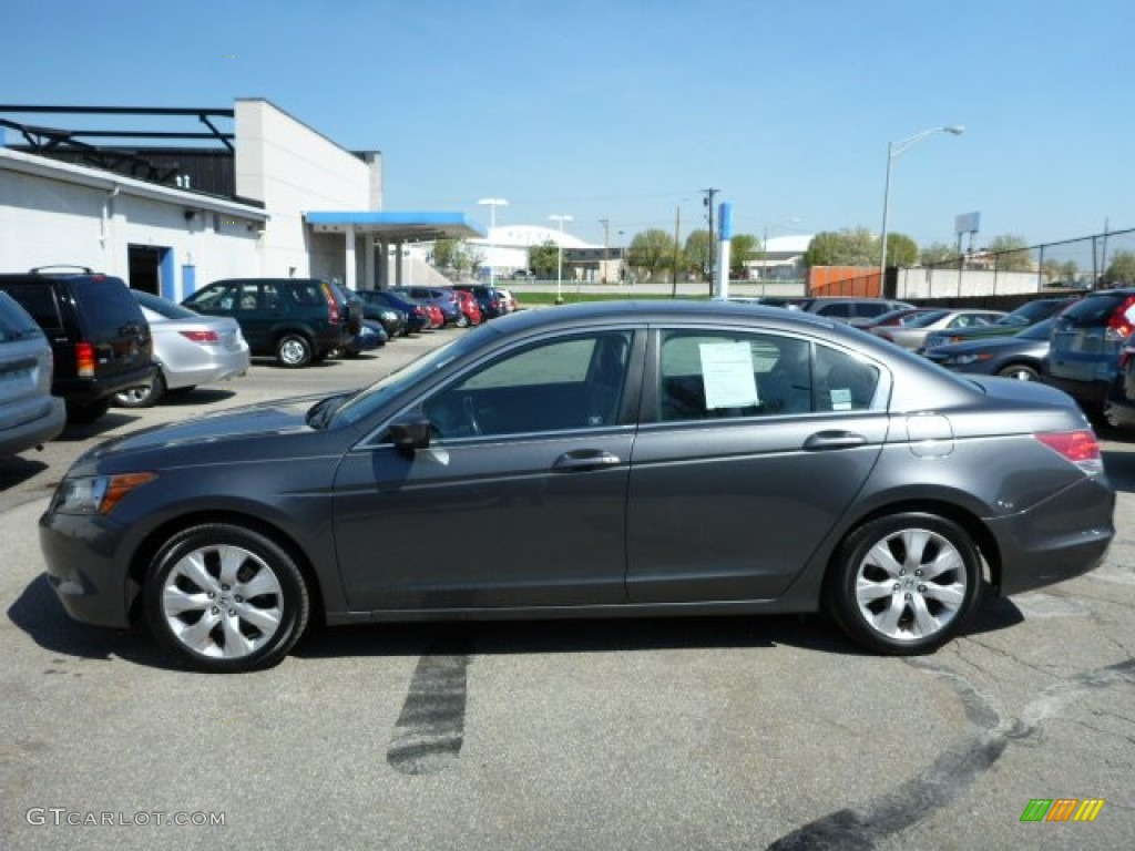 Polished Metal Metallic 2009 Honda Accord Ex L Sedan