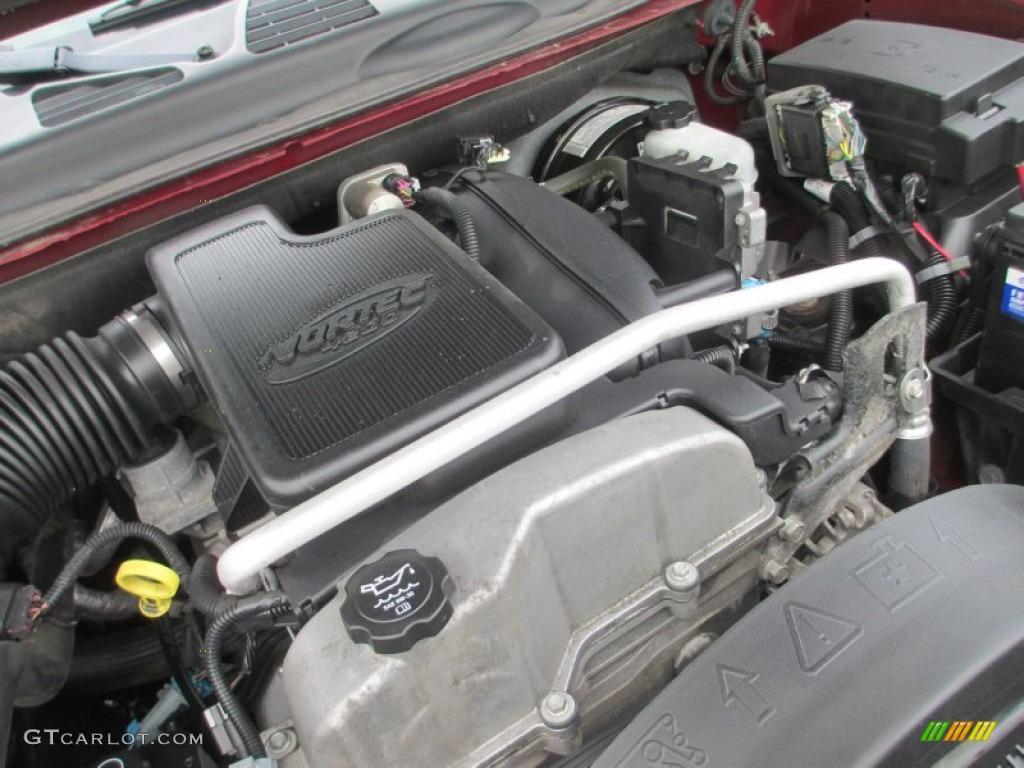 2006 gmc envoy sle 4x4 4 2 liter dohc 24 valve vortec inline 6 cylinder engine photo 80191426. Black Bedroom Furniture Sets. Home Design Ideas