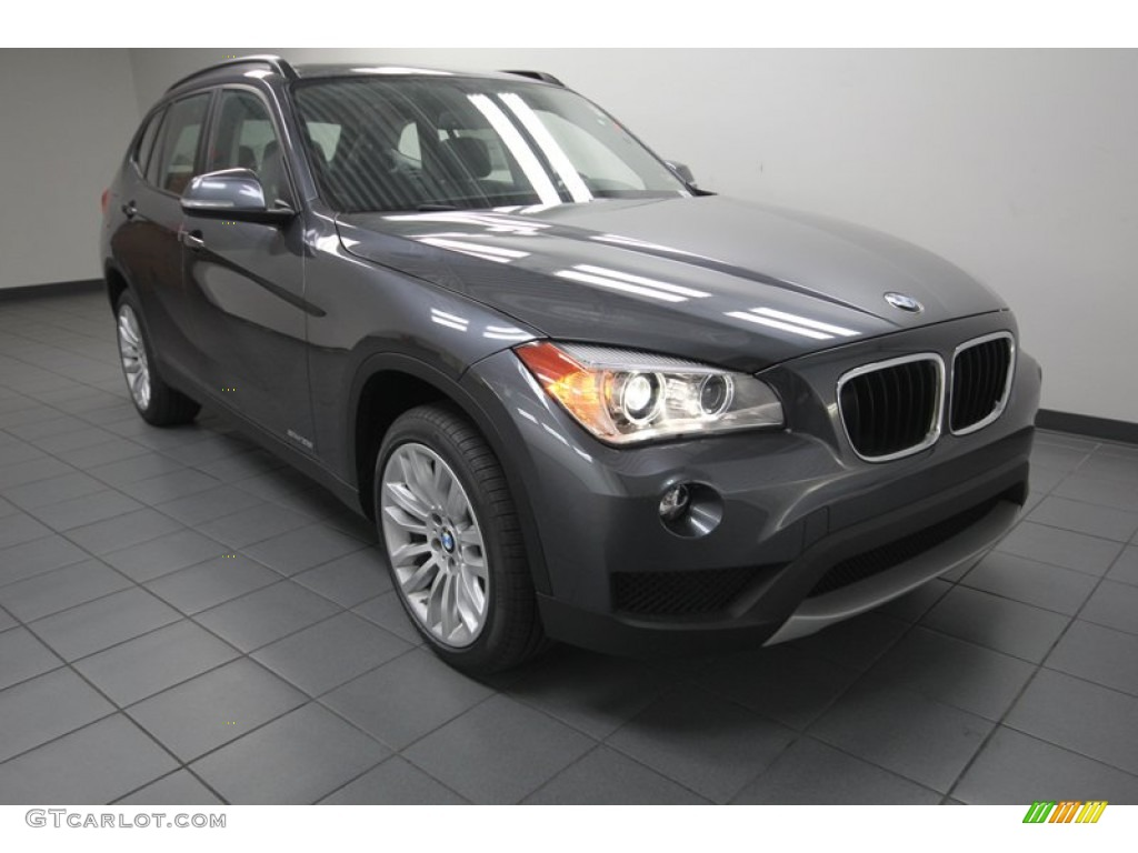 2014 mineral grey metallic bmw x1 sdrive28i 80174558 car color galleries. Black Bedroom Furniture Sets. Home Design Ideas