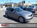 Space Grey Metallic 2009 BMW 1 Series 128i Coupe