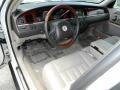 2003 Lincoln Town Car Dark Stone/Medium Light Stone Interior Prime Interior Photo