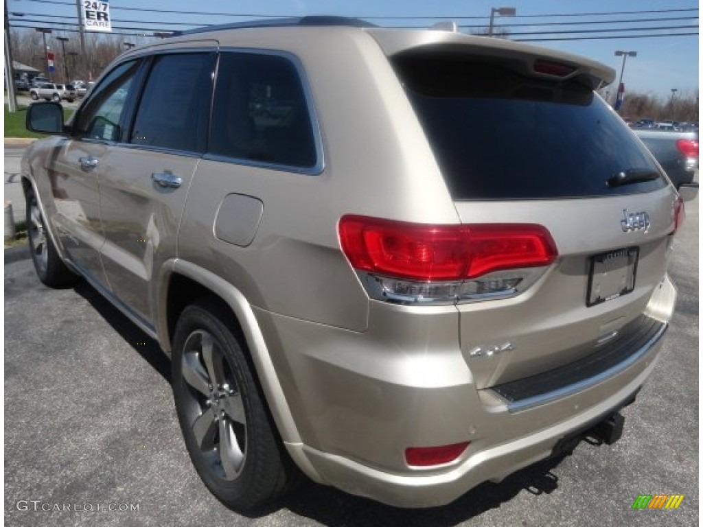 2014 Cashmere Pearl Jeep Grand Cherokee Overland 4x4