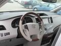 2011 Silver Sky Metallic Toyota Sienna Limited AWD  photo #11