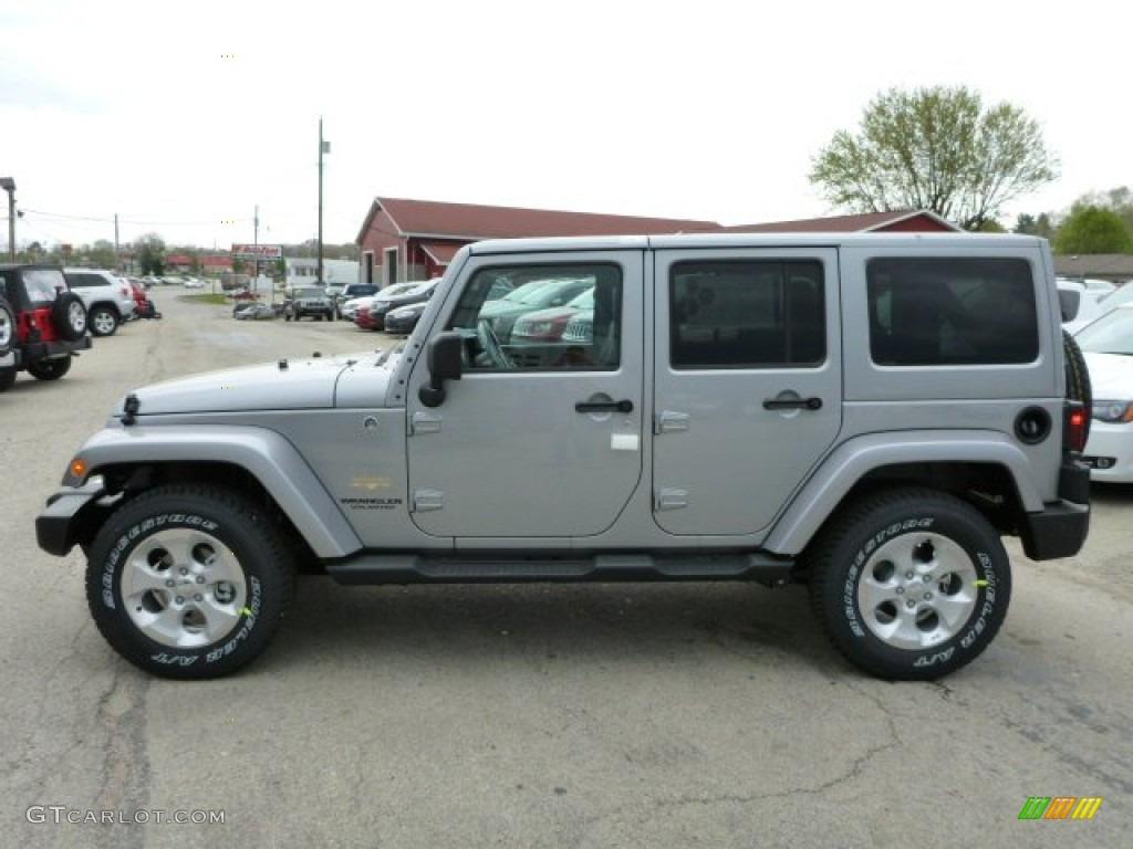Billet Silver Metallic 2013 Jeep Wrangler Unlimited Sahara