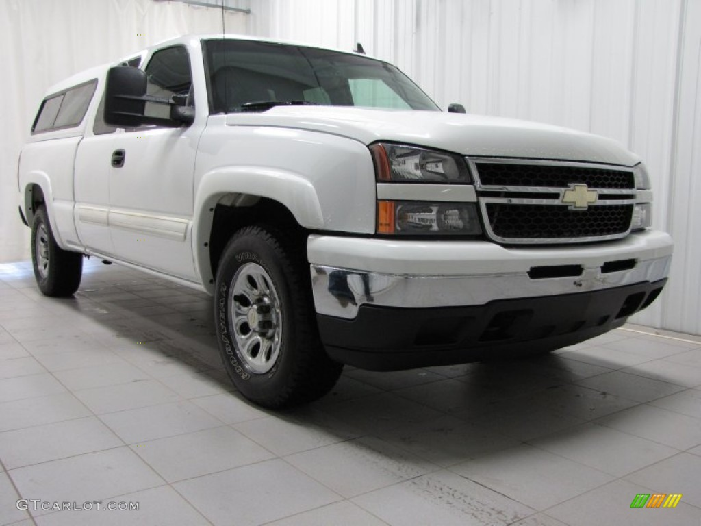 summit white 2006 chevrolet silverado 1500 ls extended cab 4x4 exterior photo 80223702. Black Bedroom Furniture Sets. Home Design Ideas