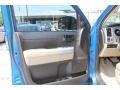 2008 Blue Streak Metallic Toyota Tundra Texas Edition CrewMax  photo #10
