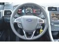 Charcoal Black Steering Wheel Photo for 2013 Ford Fusion #80241746