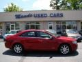 2008 Vivid Red Metallic Lincoln MKZ Sedan  photo #1