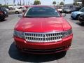 2008 Vivid Red Metallic Lincoln MKZ Sedan  photo #3