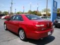 2008 Vivid Red Metallic Lincoln MKZ Sedan  photo #6