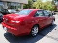 2008 Vivid Red Metallic Lincoln MKZ Sedan  photo #8