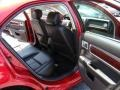 2008 Vivid Red Metallic Lincoln MKZ Sedan  photo #14