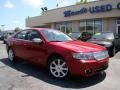 2008 Vivid Red Metallic Lincoln MKZ Sedan  photo #27