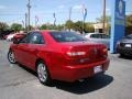 2008 Vivid Red Metallic Lincoln MKZ Sedan  photo #29