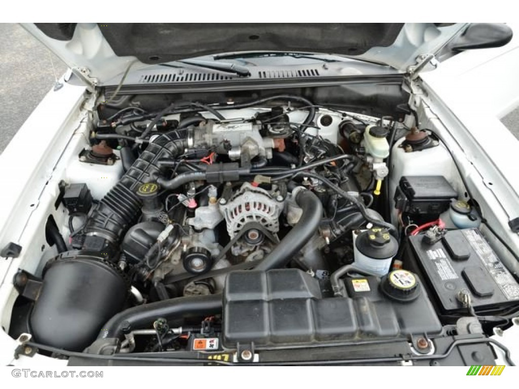 2003 Ford Mustang GT Convertible Engine Photos