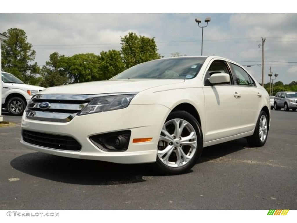 White Suede 2012 Ford Fusion Se Exterior Photo 80252992