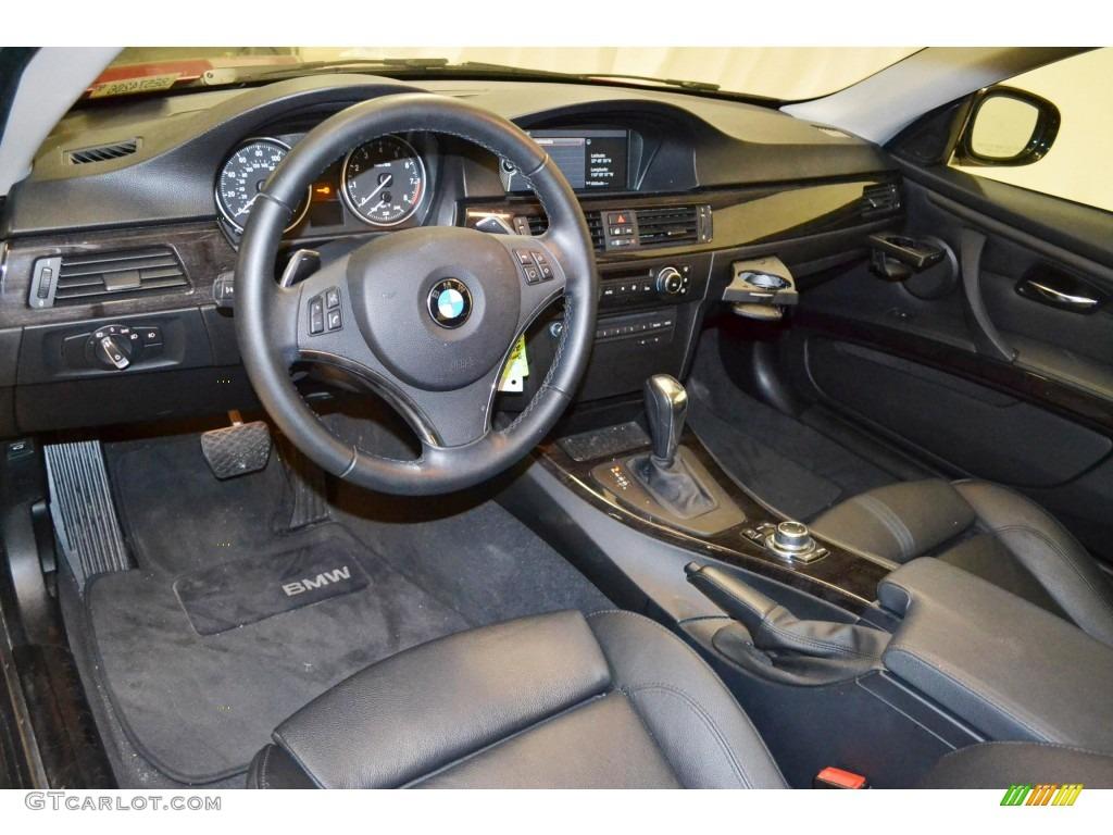 Black Interior 2011 BMW 3 Series 328i Coupe Photo