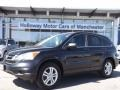 2010 Crystal Black Pearl Honda CR-V EX AWD  photo #1