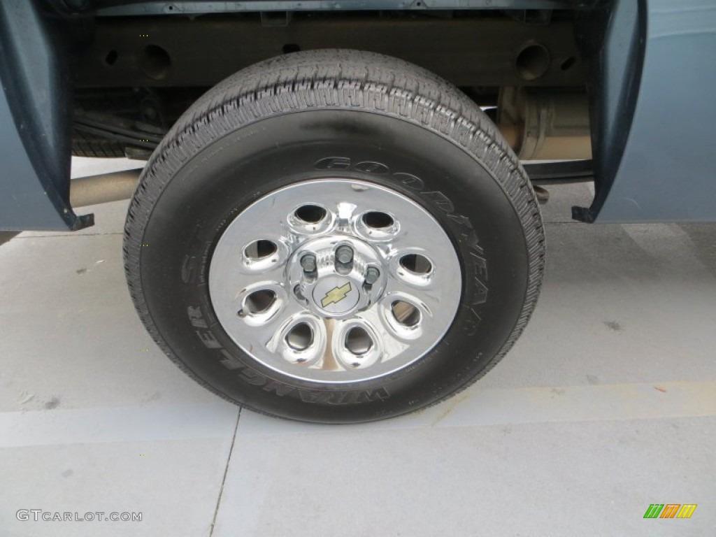 2012 Silverado 1500 Work Truck Regular Cab 4x4 - Blue Granite Metallic / Dark Titanium photo #13