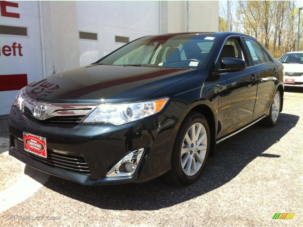2012 cosmic gray mica toyota camry xle v6 80225644 car color galleries. Black Bedroom Furniture Sets. Home Design Ideas