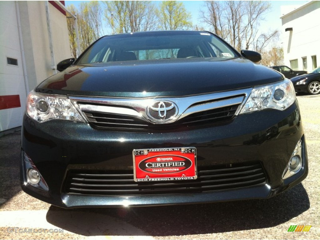 2012 cosmic gray mica toyota camry xle v6 80225644 photo 2 car color galleries. Black Bedroom Furniture Sets. Home Design Ideas