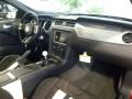 2014 Ford Mustang Shelby Charcoal Black/White Accents Interior Dashboard Photo