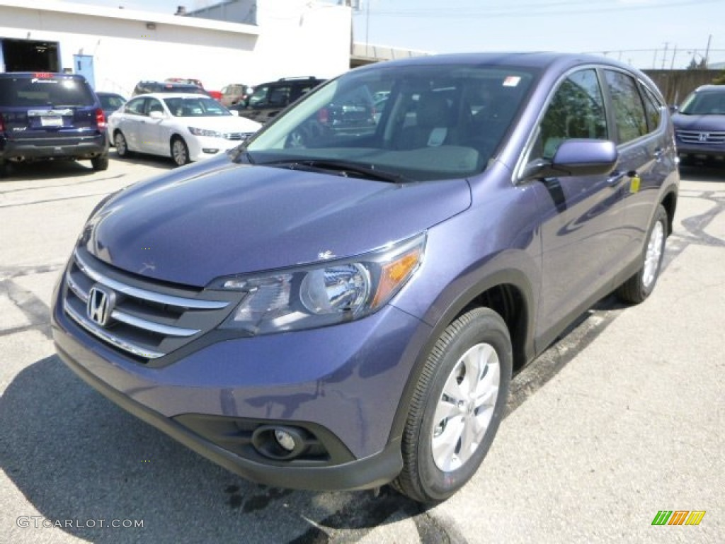 Twilight Blue Metallic 2013 Honda Cr V Ex Awd Exterior Photo 80295047