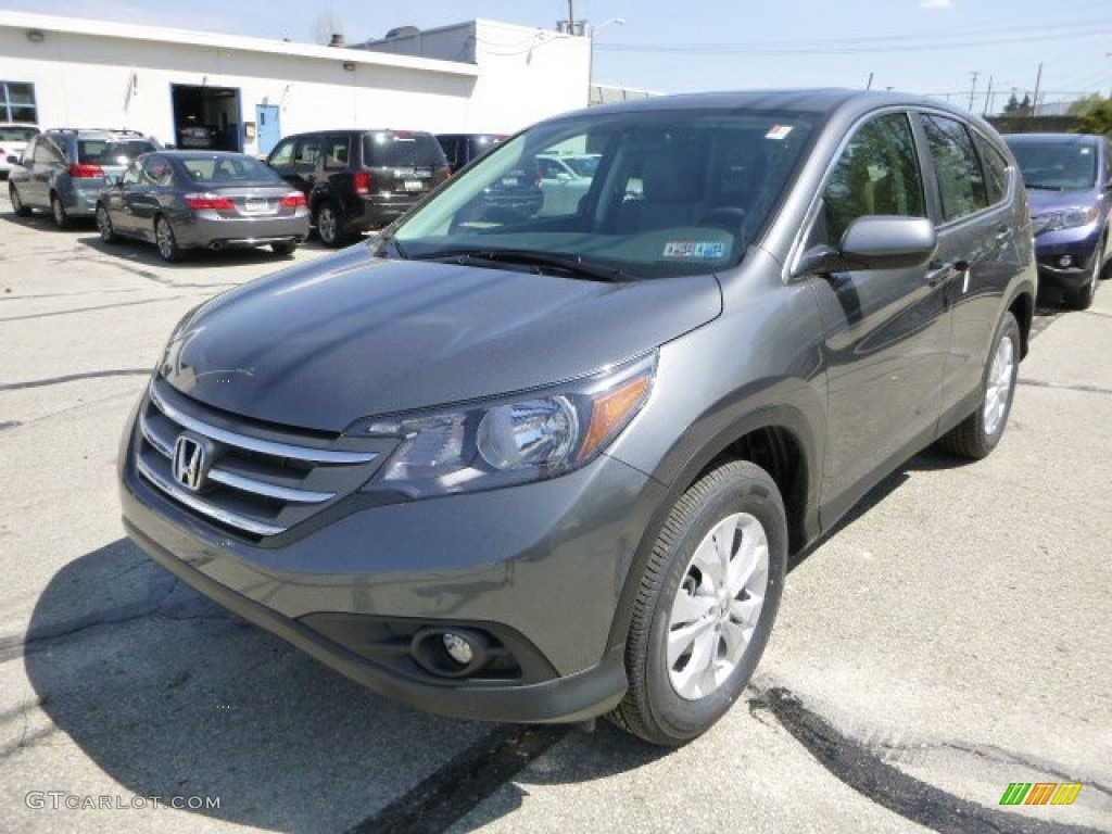 Polished Metal Metallic 2013 Honda Cr V Ex Awd Exterior Photo 80296002