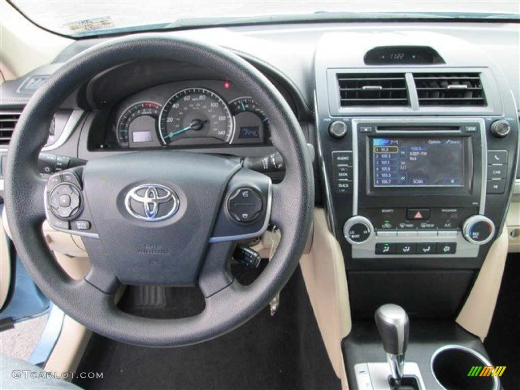 2012 toyota camry le ivory dashboard photo 80299010. Black Bedroom Furniture Sets. Home Design Ideas