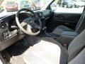 Ebony 2008 Chevrolet TrailBlazer Interiors