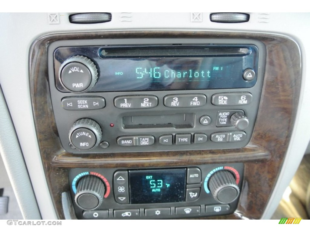 Service manual 2004 Buick Rainier Stereo Remove Lower