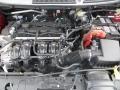 2013 Ruby Red Ford Fiesta SE Sedan  photo #17