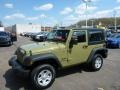 Commando Green 2013 Jeep Wrangler Sport 4x4