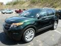 Green Gem Metallic 2013 Ford Explorer Limited 4WD Exterior