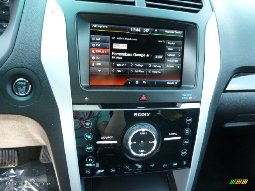 2013 Ford Explorer Limited 4WD Controls Photo #80316622