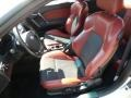 2008 Hyundai Tiburon SE Red Leather/Black Sport Grip Interior Interior Photo
