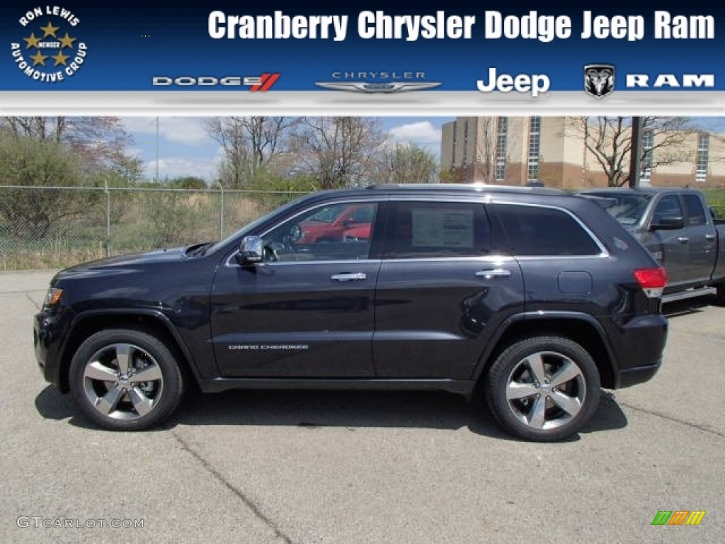 2014 Maximum Steel Metallic Jeep Grand Cherokee Overland 4x4 #80290164