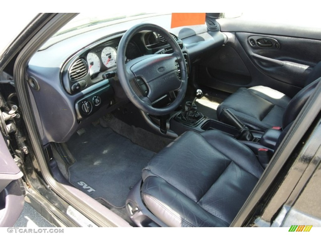 Midnight Blue SVT Leather Interior 2000 Ford Contour Photo 80324550