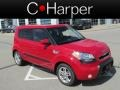 Molten Red 2010 Kia Soul +