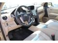 Beige Prime Interior Photo for 2011 Honda Pilot #80335153